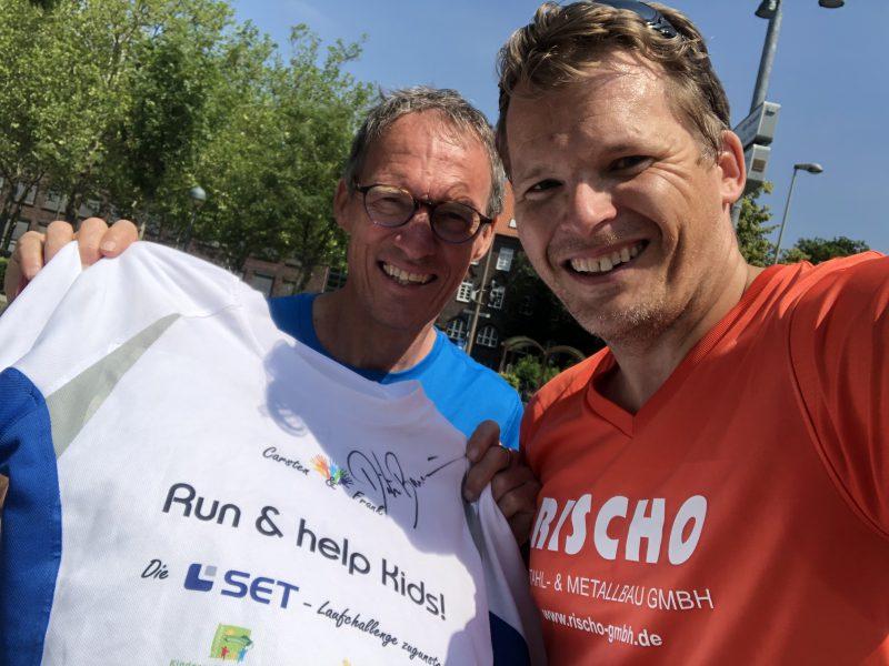 38,56 km & ein Autogramm von Dieter Baumann!!!